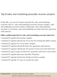 resume sample topfood srepresentativeresumesamples lva resume sample top sandmarketingassociateresumesamples lva app thumbnail