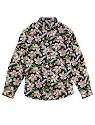 Lars Amadeus <b>Men Floral</b> Button Down Long Sleeve Hawaiian ...