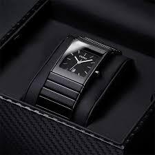 <b>OUPAI</b> Classic Black Squire Ceramic Calendar Dat <b>Watch</b> Tritium ...