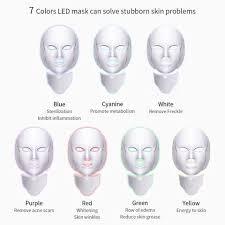 7 Color <b>LED Light</b> Therapy Skin Rejuvenating <b>Photon Mask</b> in 2019 ...