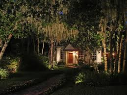 subdued lighting by minimizing shadows and lighting up your landscape outdoor lighting helps make your property amazoncom furniture 62quot industrial wood