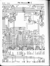 mercury wiring diagrams the old car manual project 1961 6 cylinder