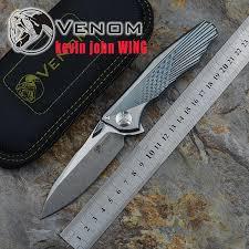 Kevin John VENOM WingS35VN твердый титановый плавник ...