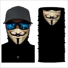 Outdoor Motorcycle Riding Windproof <b>Skull Mouth</b> Face Mask Scarf ...