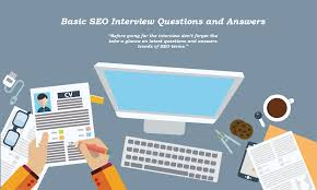 top seo interview questions and answers for beginners