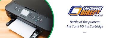 <b>Battle</b> of the printers: Ink Tank <b>VS</b> Ink Cartridge