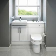 cooke lewis helena cooke amp lewis santini gloss white standard toilet cabinet image