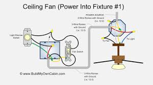 ceiling wiring diagram   ceiling fan wiring diagram power into lightceiling fan wiring diagram power into light