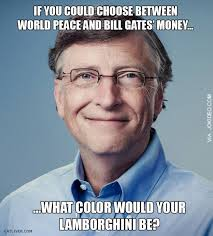 Choose world peace and bill gates money meme | Funny Dirty Adult ... via Relatably.com