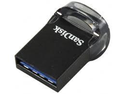 Купить <b>usb</b>-<b>флешку SanDisk Ultra</b> Fit USB 3.1 16GB, черная по ...