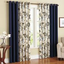 """Thermalogic™ """"Allegra"""" patterned (curtains) Grommet Top Insulated ..."""