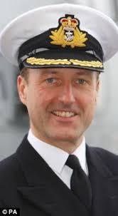 Commanding officer: Captain Paul Bennett - article-1130342-0337D394000005DC-670_233x423
