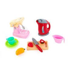 <b>Игровой набор Наша Игрушка</b> 58000-9 чайник, миксер, посуда и ...