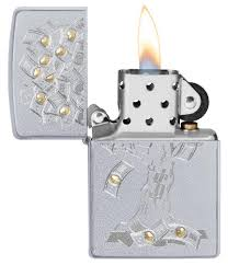 <b>Зажигалка</b> Satin Chrome <b>Money Tree</b> Design ZIPPO 29999 купить ...