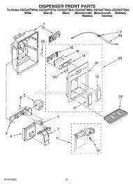 refrigerator wiring diagram repair images diagram ereplacementparts on diagram kitchenaid refrigerator ice