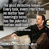 CBS Press Express | Elementary via Relatably.com
