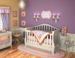 large blue purple bedrooms girls