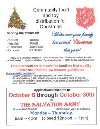 the salvation army christmas food and toy drive rhfd search