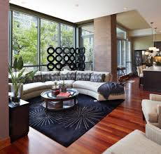 black rug living room contemporary interesting ideas with black rug floor to ceiling windows beautiful sofa living room 1 contemporary