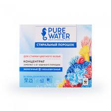 <b>Pure Water Стиральный порошок</b> для цветного белья 800 г ...