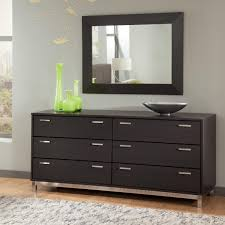 mirrored dresser and modern black painted wooden with cast iron pedestal decor square wall black painted bedroom furniture