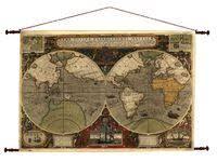 27 лучших изображений доски «Old map» | Винтаж карты мира ...