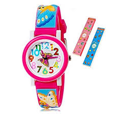 Toddler <b>Kids Children</b> Watch,3D <b>Cute Cartoon</b> Silicone Band ...