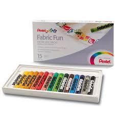 """<b>Пастель для ткани</b> """"Fabric Fun Pastels"""", 15 цветов – купить по ..."""