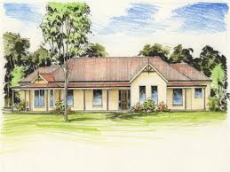 Australian Colonial House Plans Traditional Australian Houses    Australian Colonial House Plans Australian Outback House Plans