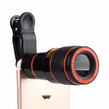 <b>12X Telephoto Clip</b> On Phone <b>Lens</b> - Zeek'z Gizmoz and Gadgetz