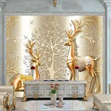 beibehang Custom Photo Wallpaper 3D <b>HD</b> Relief Money papel de ...