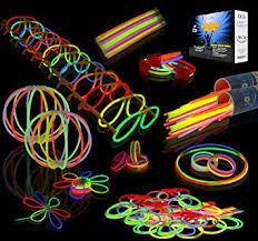 JOYIN Toy 200 8'' Glowsticks Glow Sticks Bracelets Glow Necklaces ...
