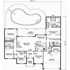one story four bedroom house plans   Story  Bedroom       Florida Style House Plans   Square Foot Home  Story  Bedroom and