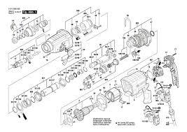 Купить запчасти для перфоратора Bosch GBH 2-24D доставка ...