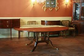 Dining Room Table That Seats 10 Large Round Dining Room Table Seats 6 10 People Hepplewhite
