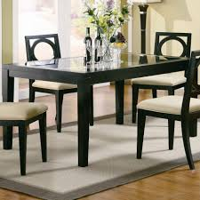 room glass top table rectangular