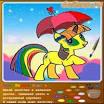 Раскраски пони играть
