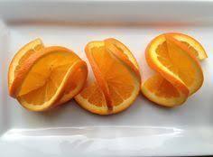 How to make a fancy double orange twist garnish | Сервировка ...