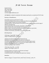 prepossessing resumes jr qa tester resume for job objective cute sap resume sapficoresume career objective