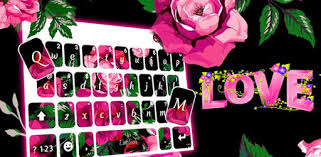 Hot <b>Pink Roses</b> Keyboard Theme - Apps on Google Play