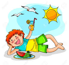 Image result for summer kid clipart