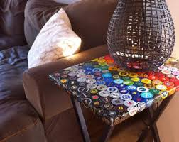 simple and creative handmade decorations where the jobless bottlecap can be employed hometone bottle cap furniture