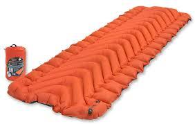 "<b>Коврик надувной Klymit</b> ""<b>Insulated Static</b> V"", цвет: оранжевый ..."