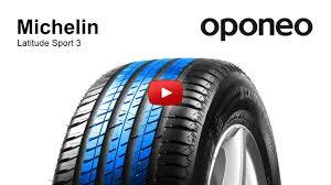 Tyre <b>Michelin Latitude Sport 3</b> Summer Tyres Oponeo™ - YouTube