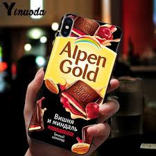 Online Shop Yinuoda <b>Funny Chocolate Russian</b> TPU black <b>Phone</b> ...