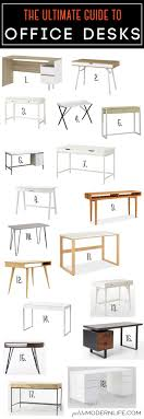 the ultimate guide for modern office desks on petite modern life 18 styles 5 beautiful office desks shaped 5