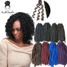 <b>Luxury for Braiding 110g</b> 15roots 18inch Synthetic Soft Dreadlocks ...