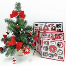 2019 Christmas Wooden Doll Tree Hanging Ornaments Merry ...