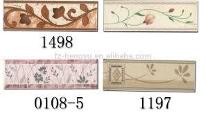 bathroom border resin tile ceramic
