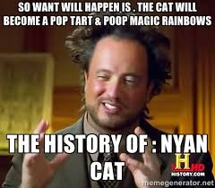 So want will happen is . The cat will become a pop tart & poop ... via Relatably.com